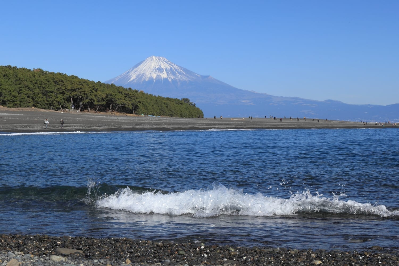 Miho no Matsubara y el Monte Fuji Shizuoka Japón