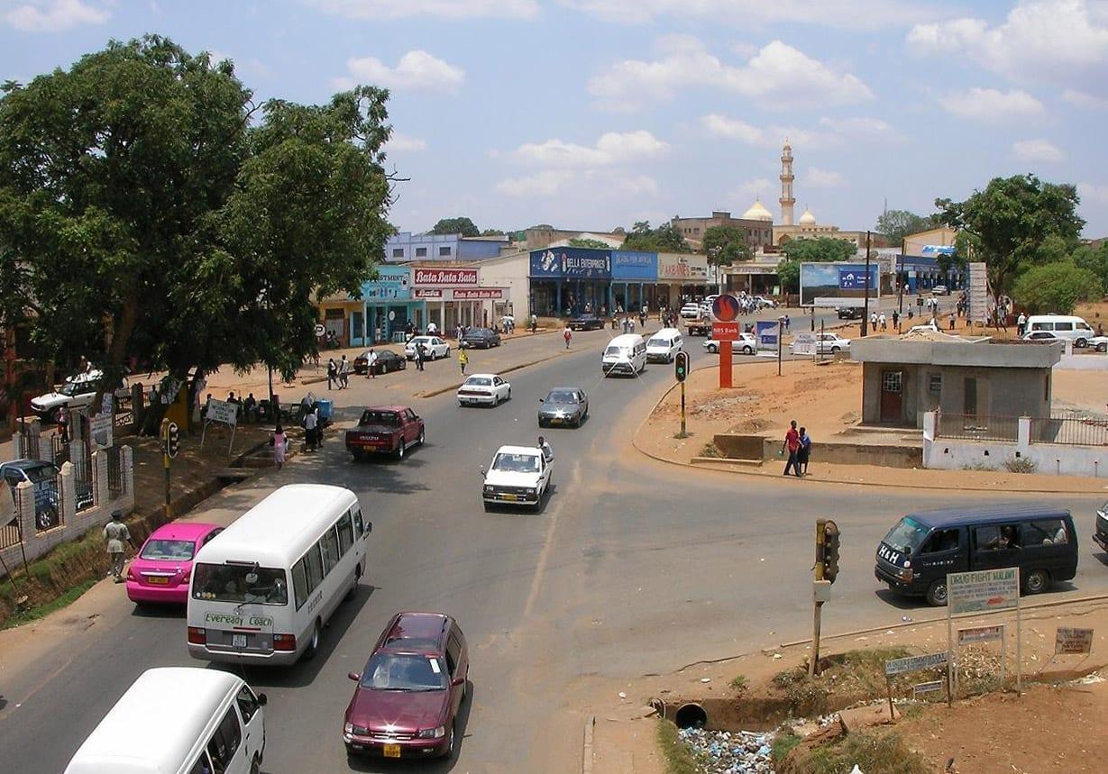 Mirando el casco antiguo de Lilongwe Lilongüe Malawi