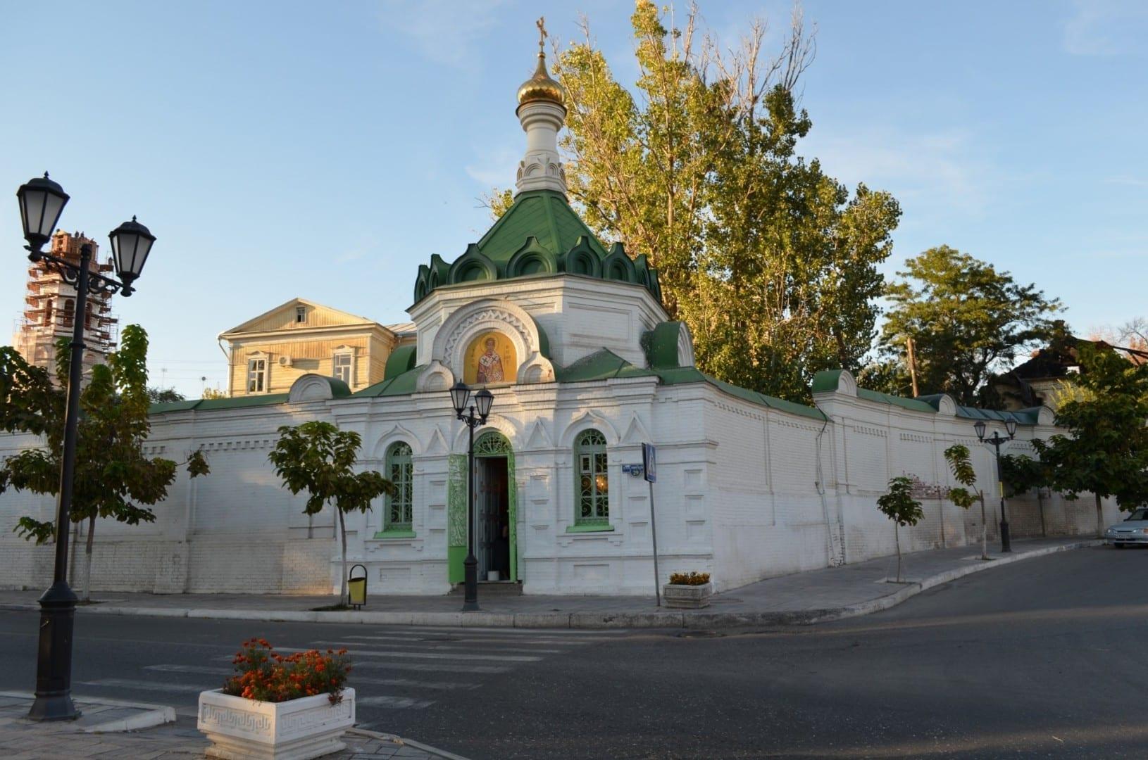 Monasterio de Novodevichy Astrakhan Rusia
