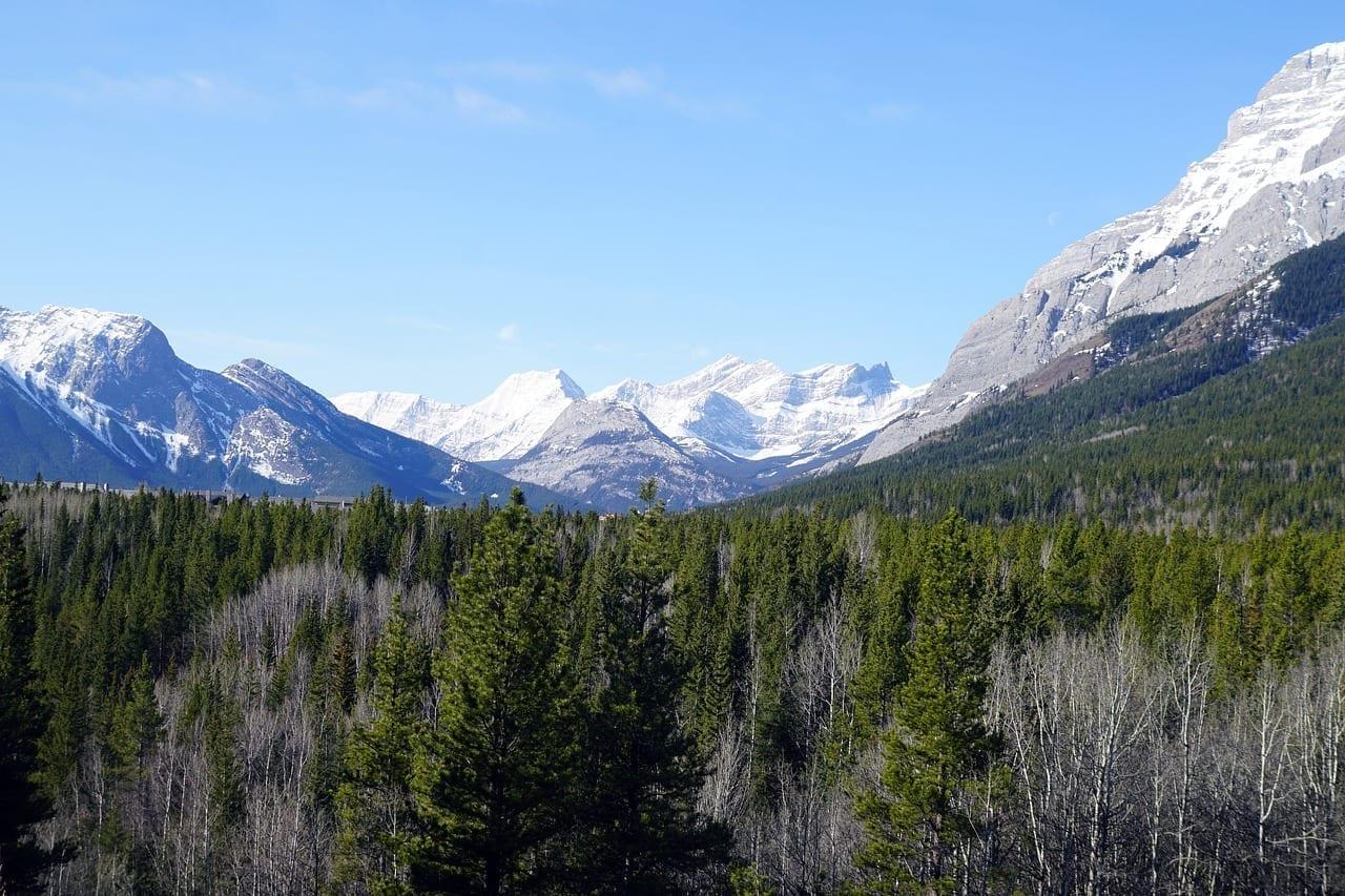 Montaña Alberta Kananaskis Canadá
