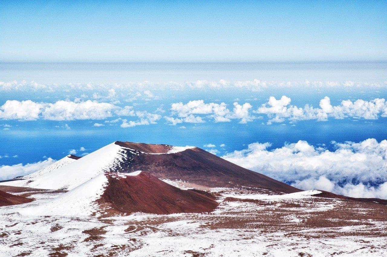 Montaña Hawaii Mauna Kea Estados Unidos