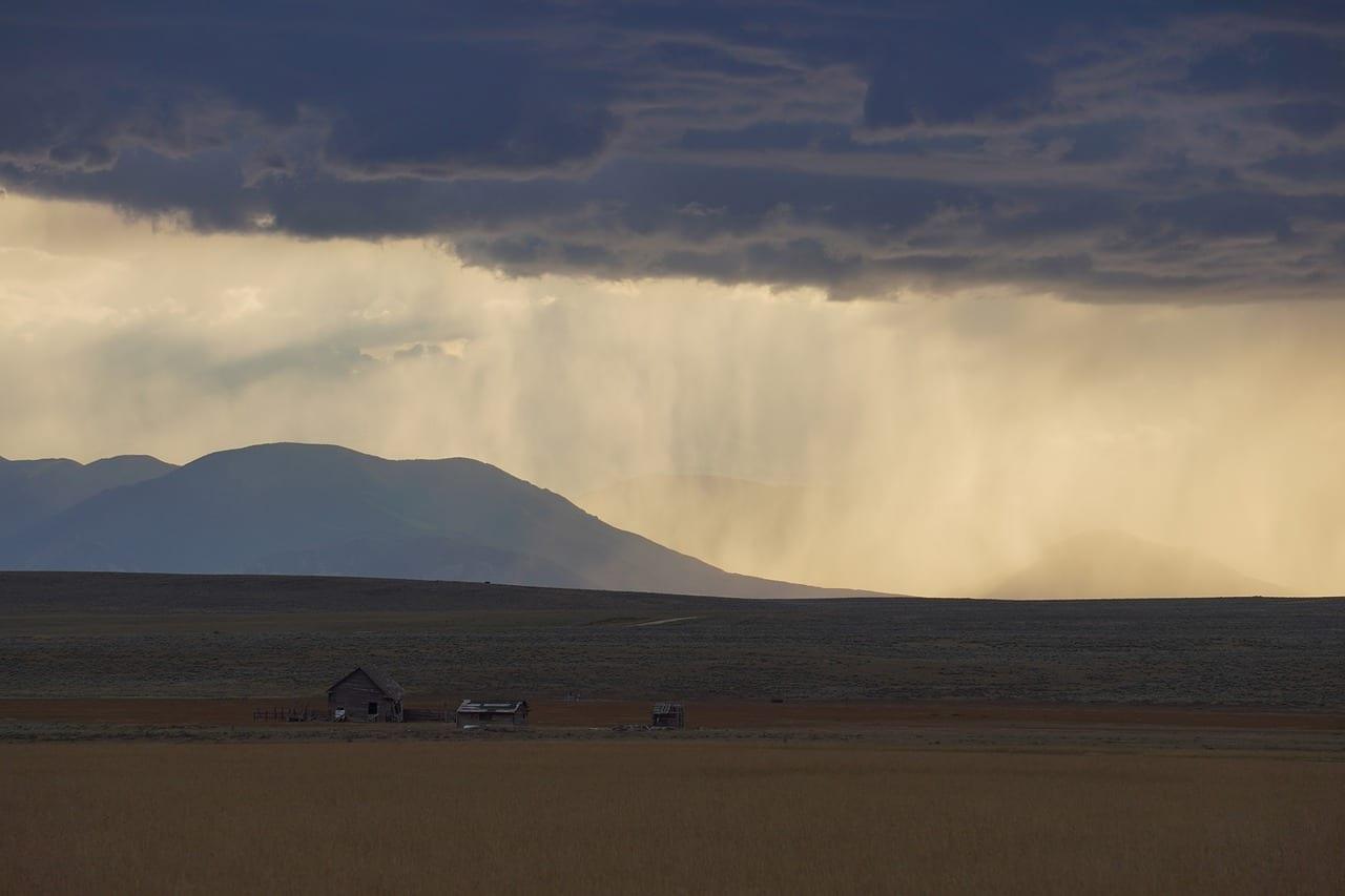 Montana Big Sky Country Espacios Abiertos Estados Unidos