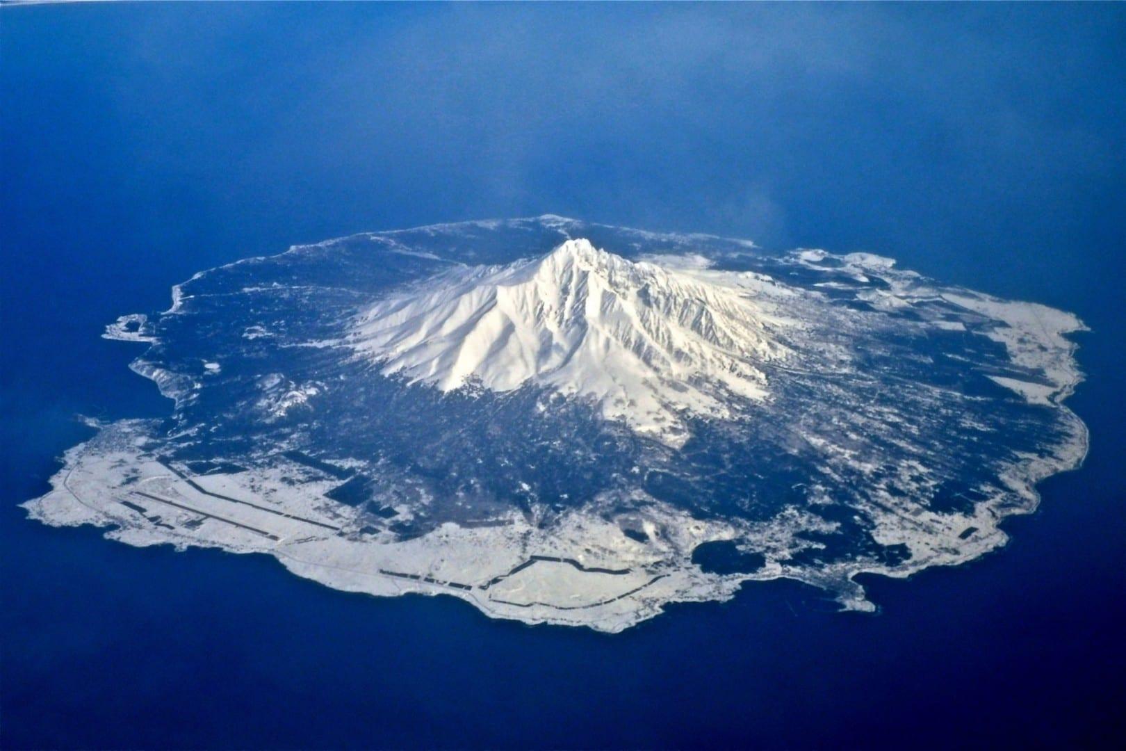 Monte Rishiri Rishiri Island Japón