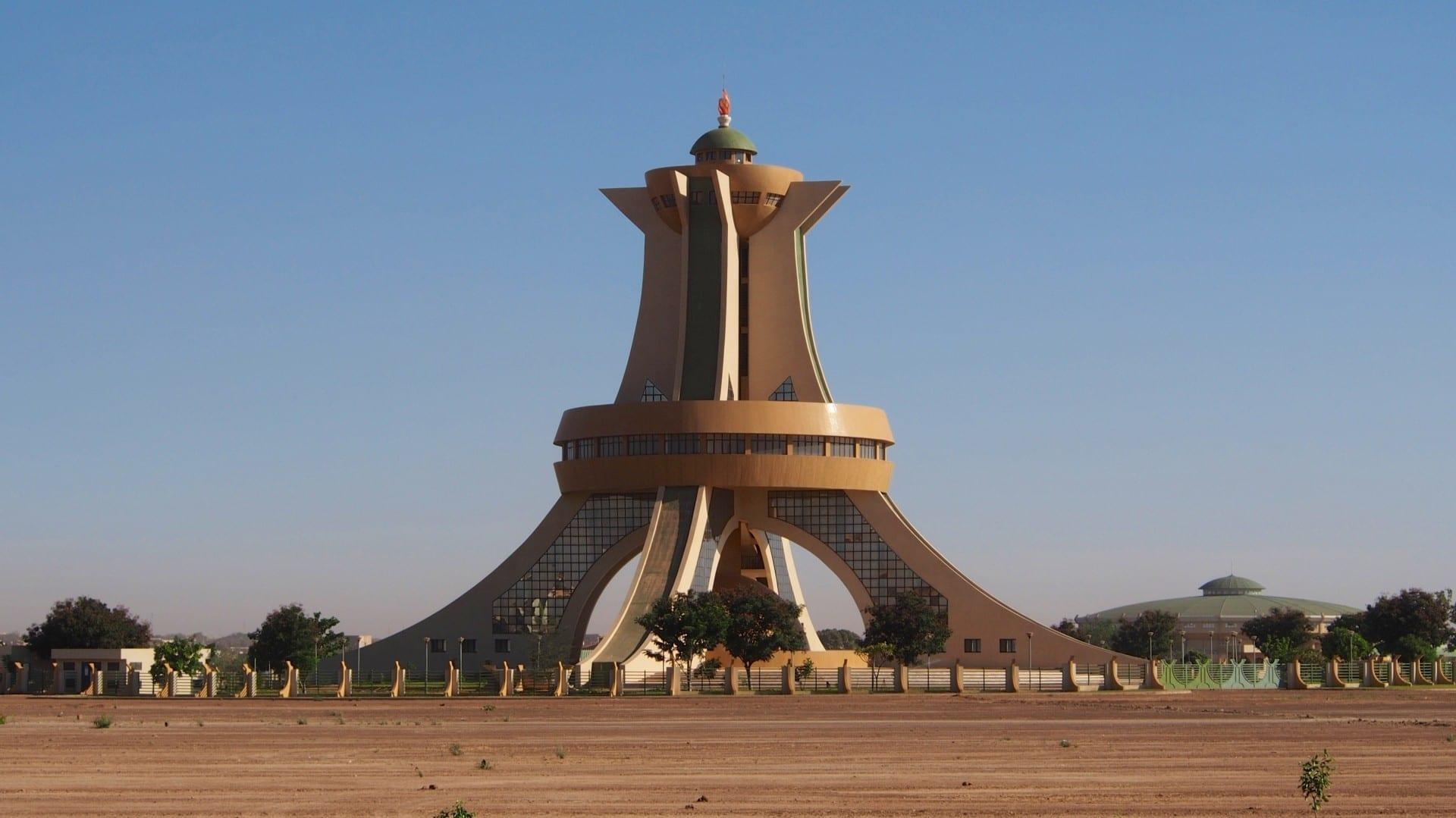 Monumento a los Mártires Uagadugú Burkina Faso