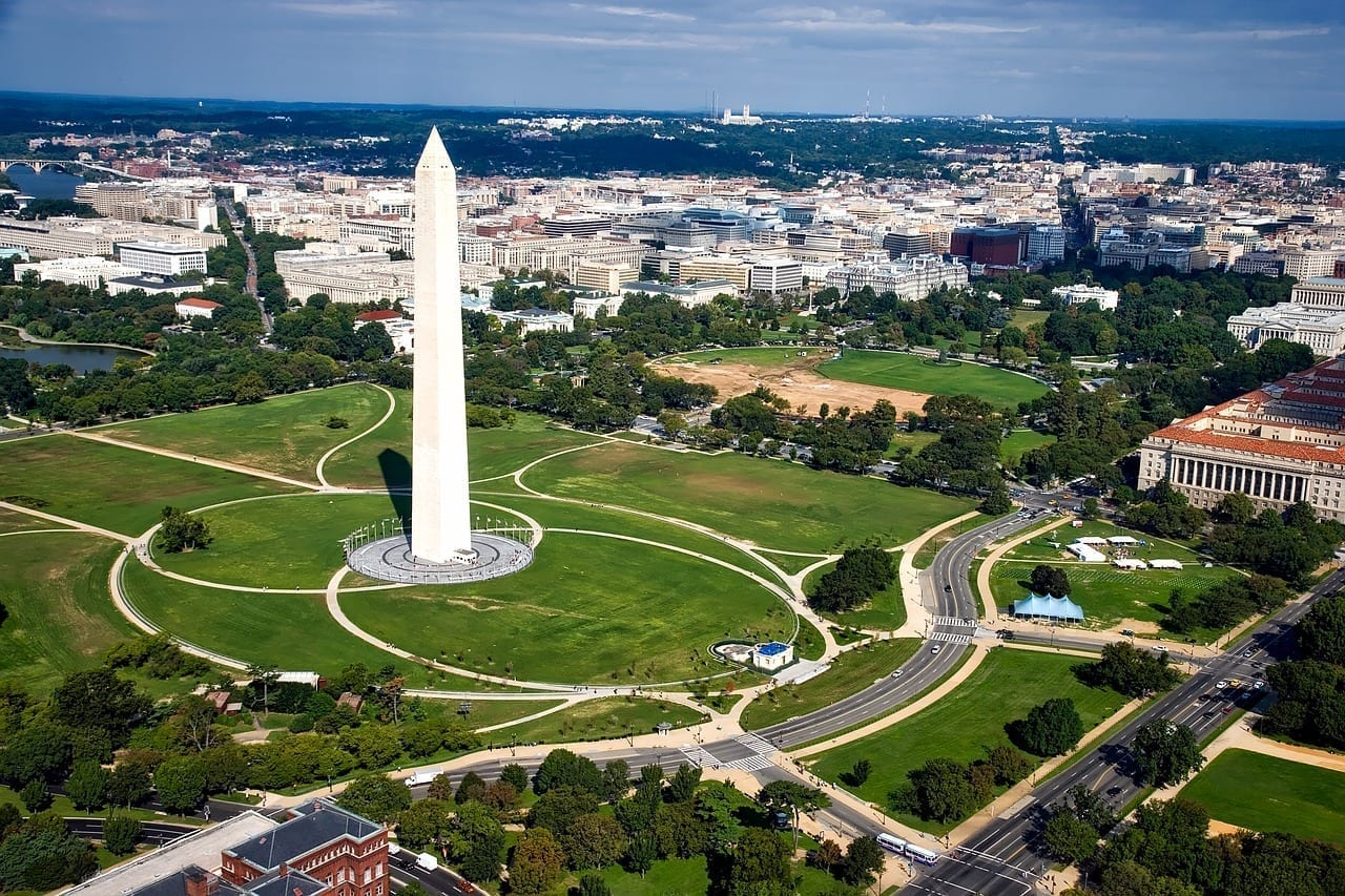 Monumento A Washington Washington Dc C Estados Unidos