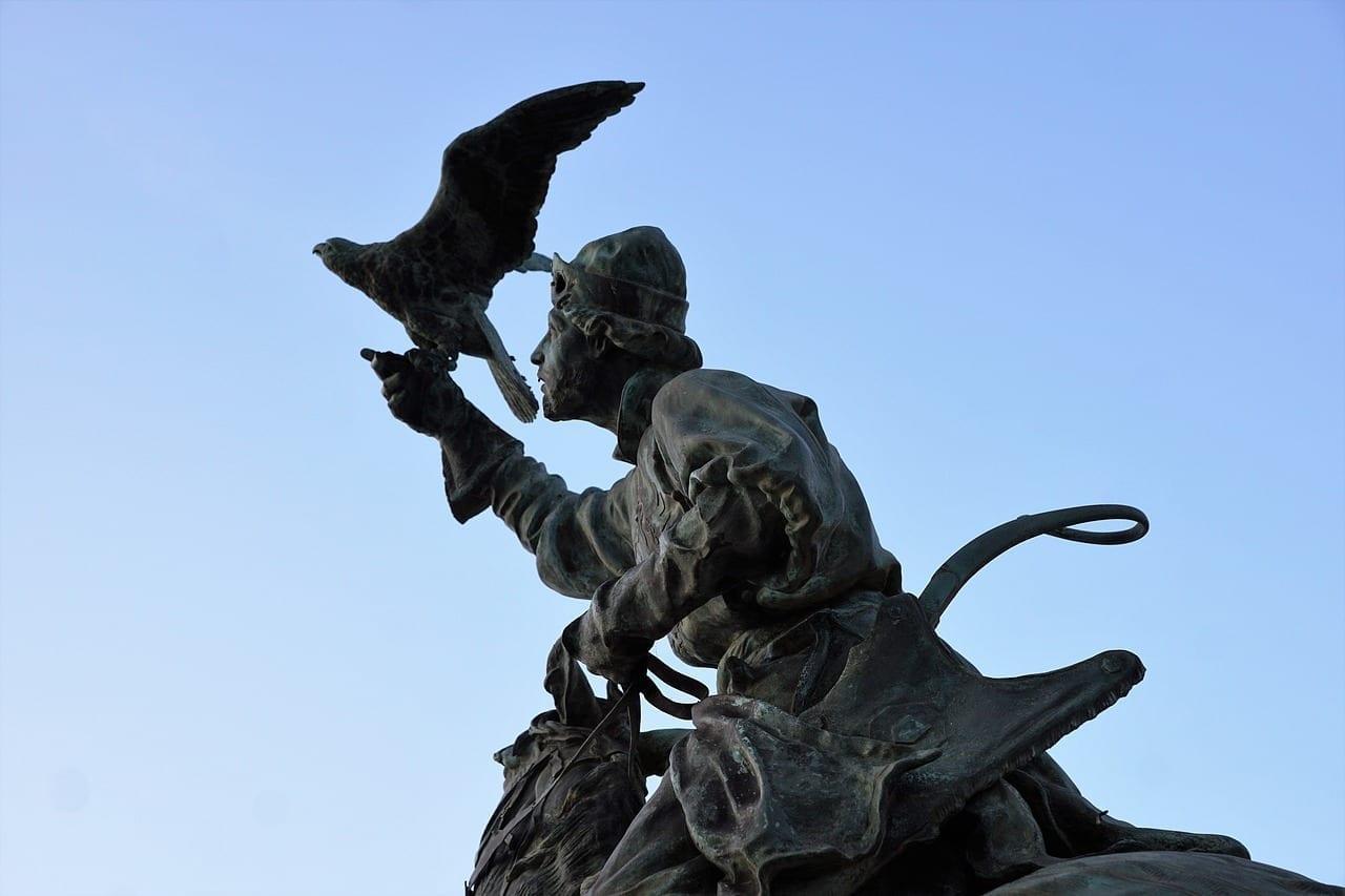 Monumento Estatua Menton Francia
