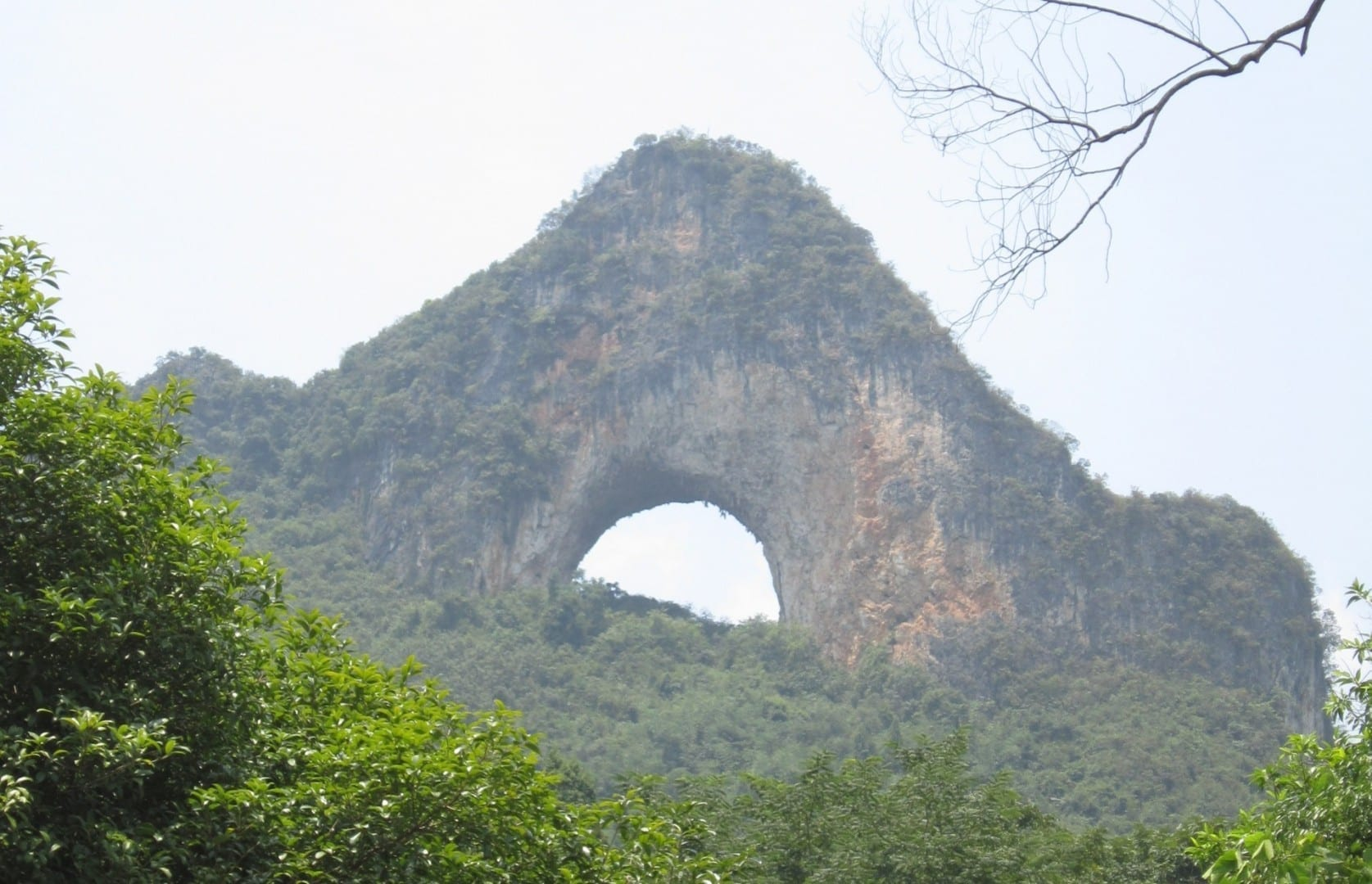Moon Hill Yangshuo China