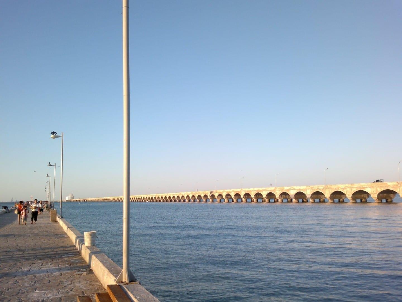 Muelle Altura Progreso, el muelle más largo del mundo Puerto Progreso México