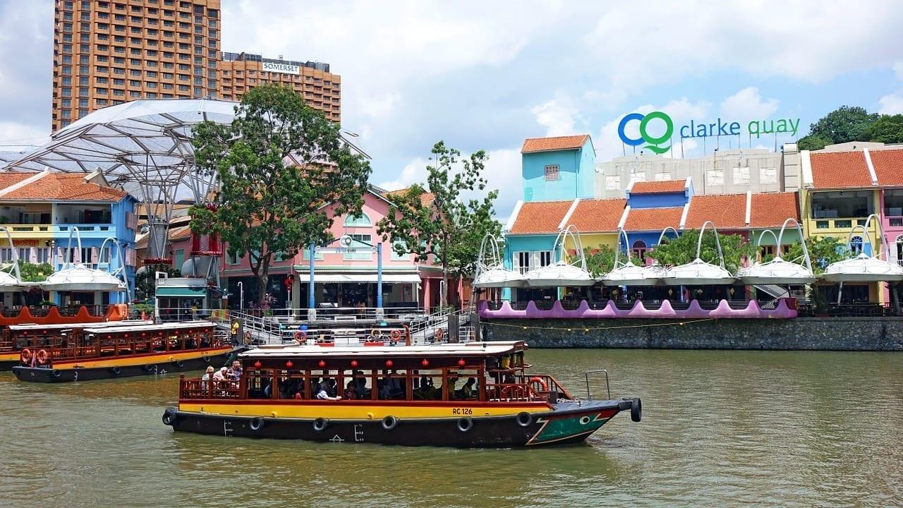 Muelle De Clarke Singapur El Turismo Filipinas