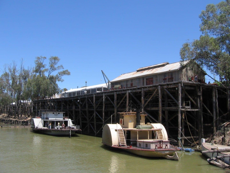 Muelle de Echuca Echuca Australia