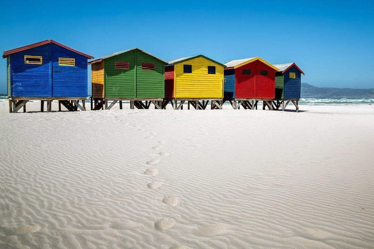 Muizenberg Casa De Playa Cabañas República de Sudáfrica