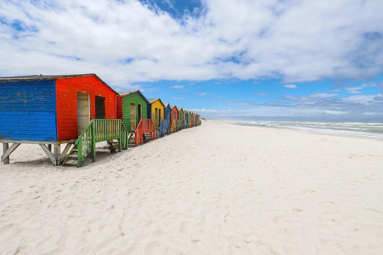 Muizenberg Ciudad Del Cabo Sudáfrica República de Sudáfrica