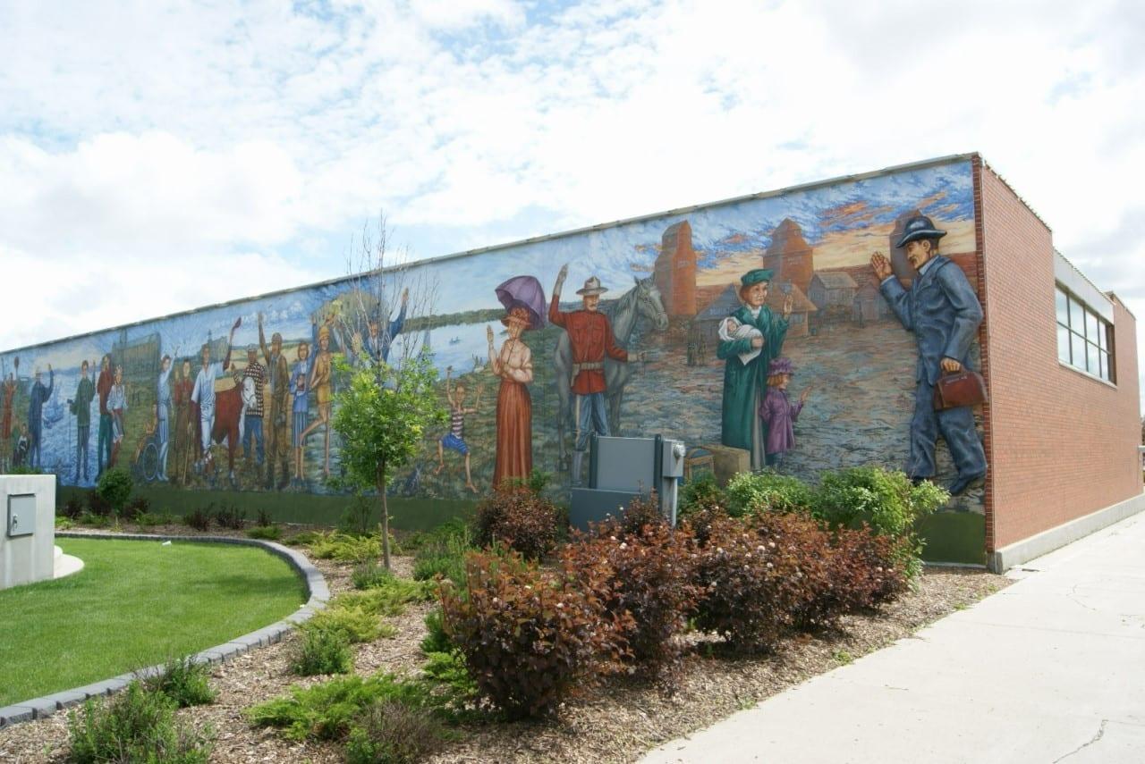 Mural de Yorkton Yorkton Canadá
