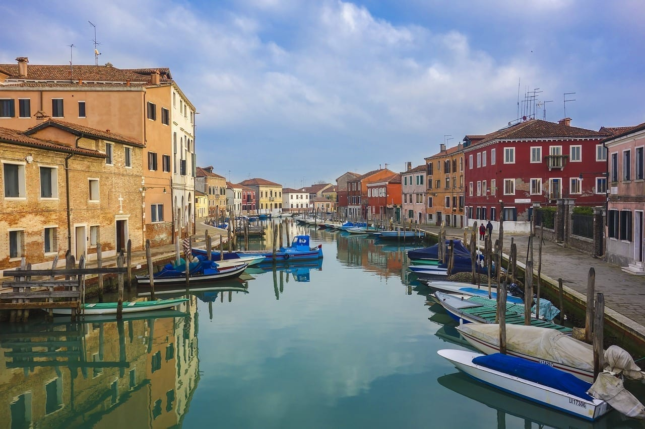 Murano Isla De Cristal Venecia Italia