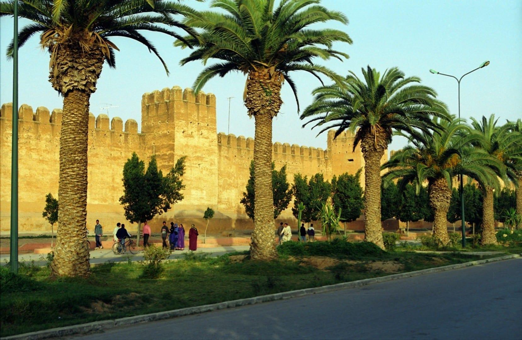 Muro defensivo Taroudannt Tarudant Marruecos