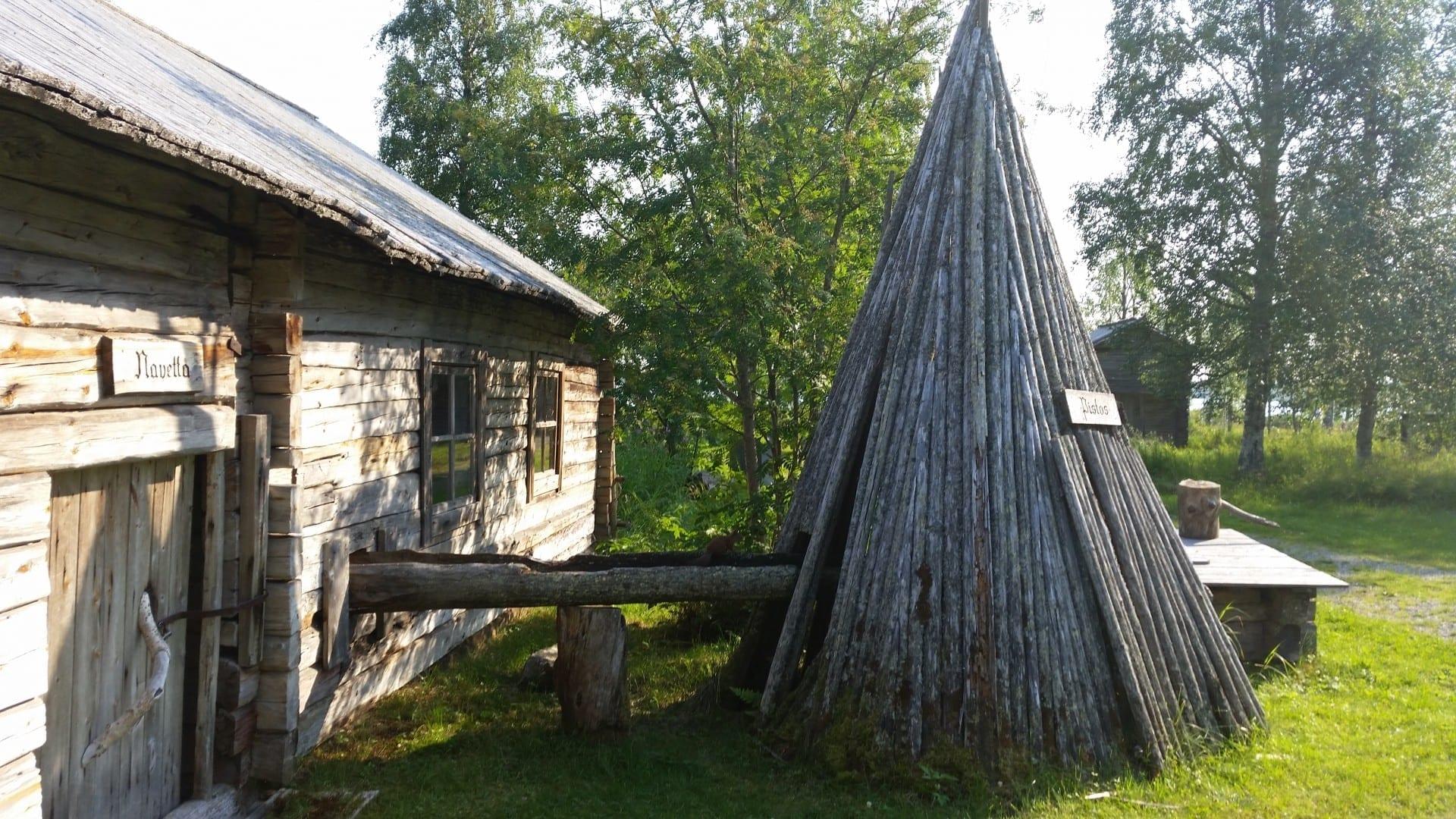 Museo de historia local Kuusamo Finlandia