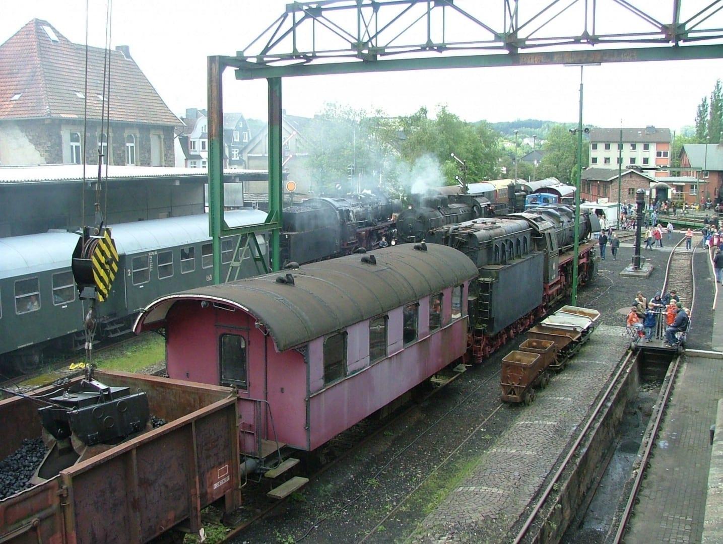 Museo del Ferrocarril de Dieringhausen Gummersbach Alemania