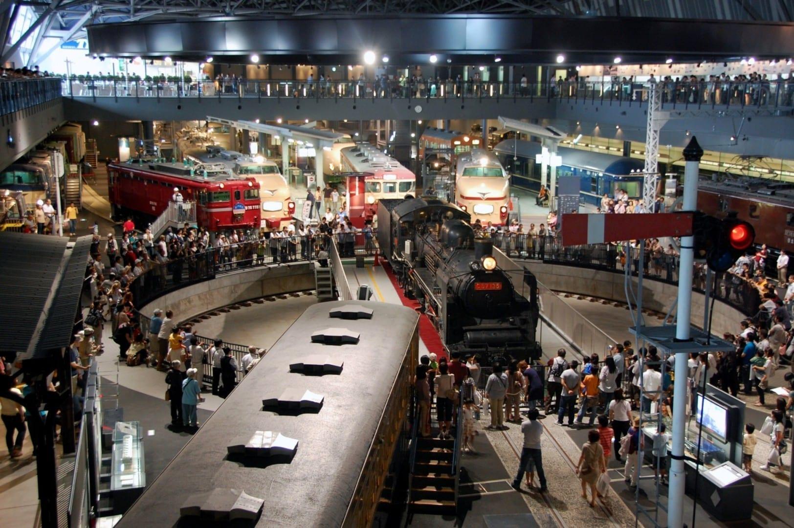 Museo del Ferrocarril Saitama Japón