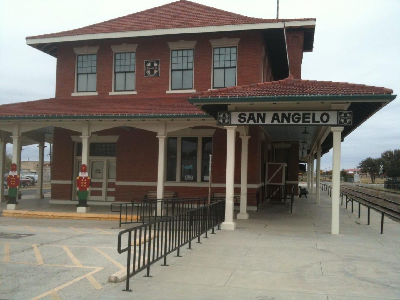 Museo del Ferrocarril San Angelo TX Estados Unidos