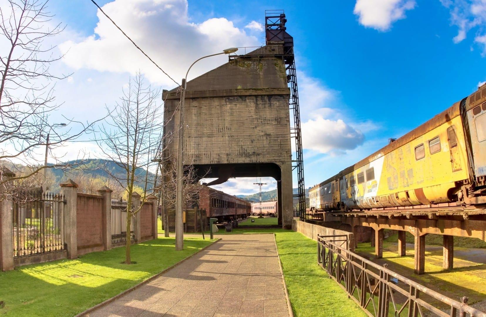 Museo Nacional Ferroviario Pablo Neruda de Temuco Temuco Chile