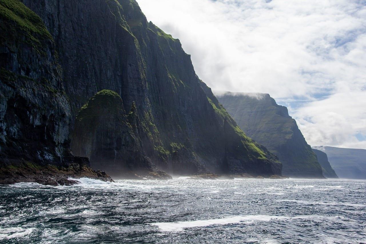 Naturaleza Islas Feroe Mar Dinamarca