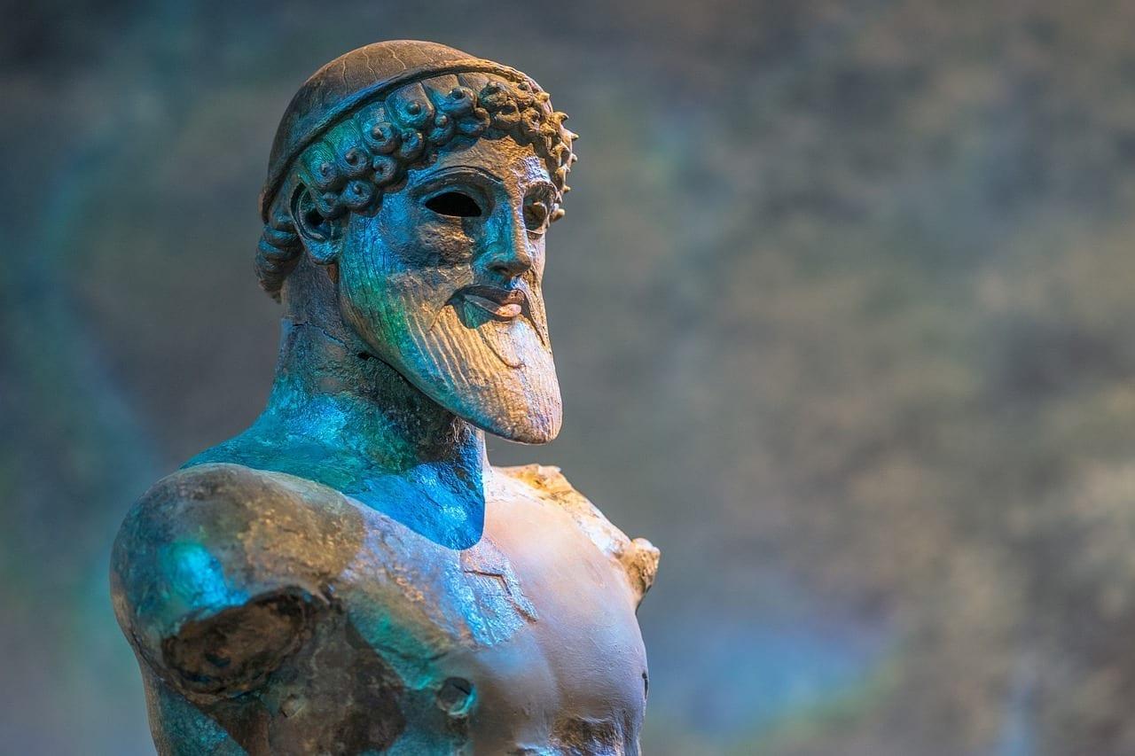 Neptuno Dios Dios Del Mar Rumania