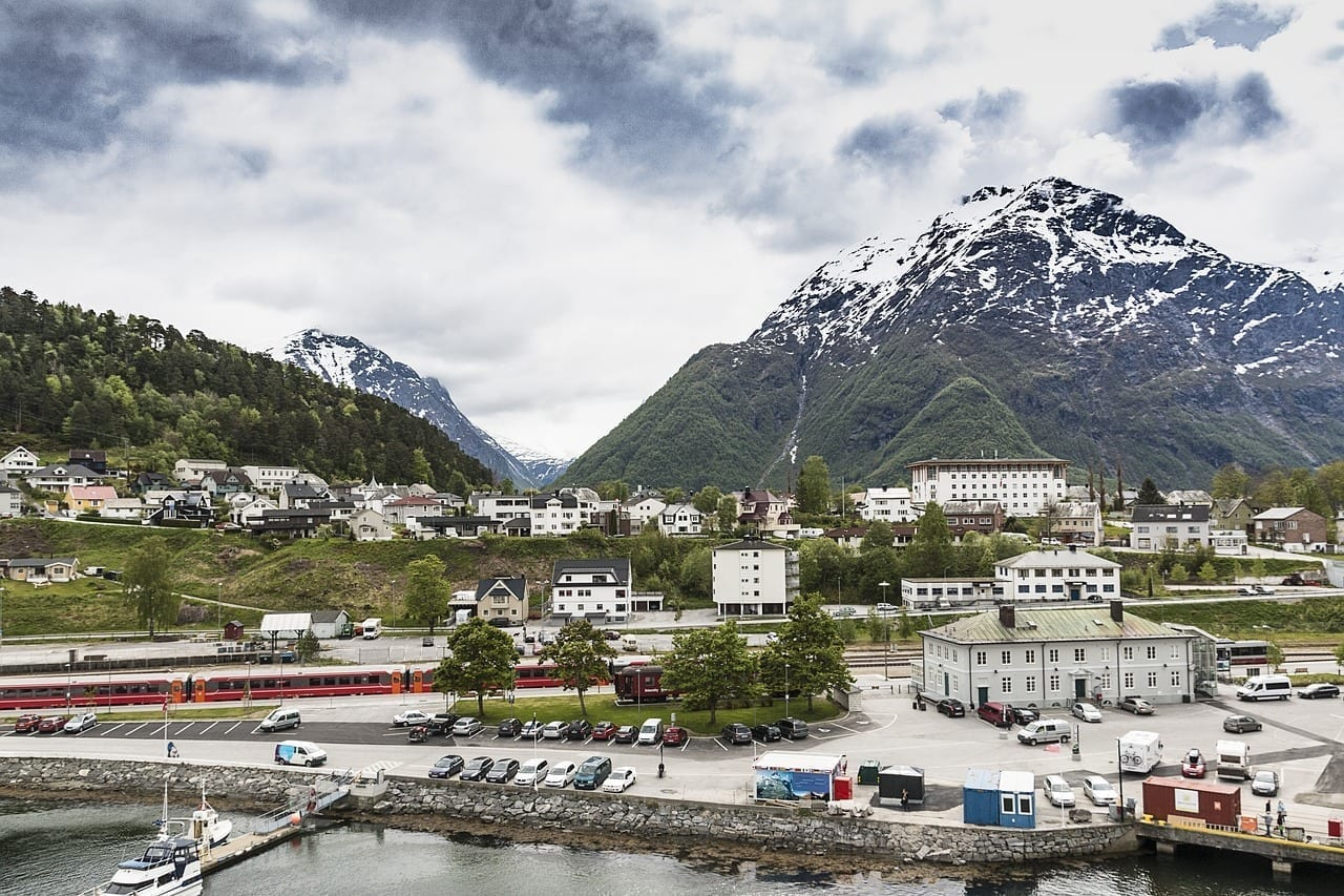 Noruega Andalsnes Paisaje Noruega