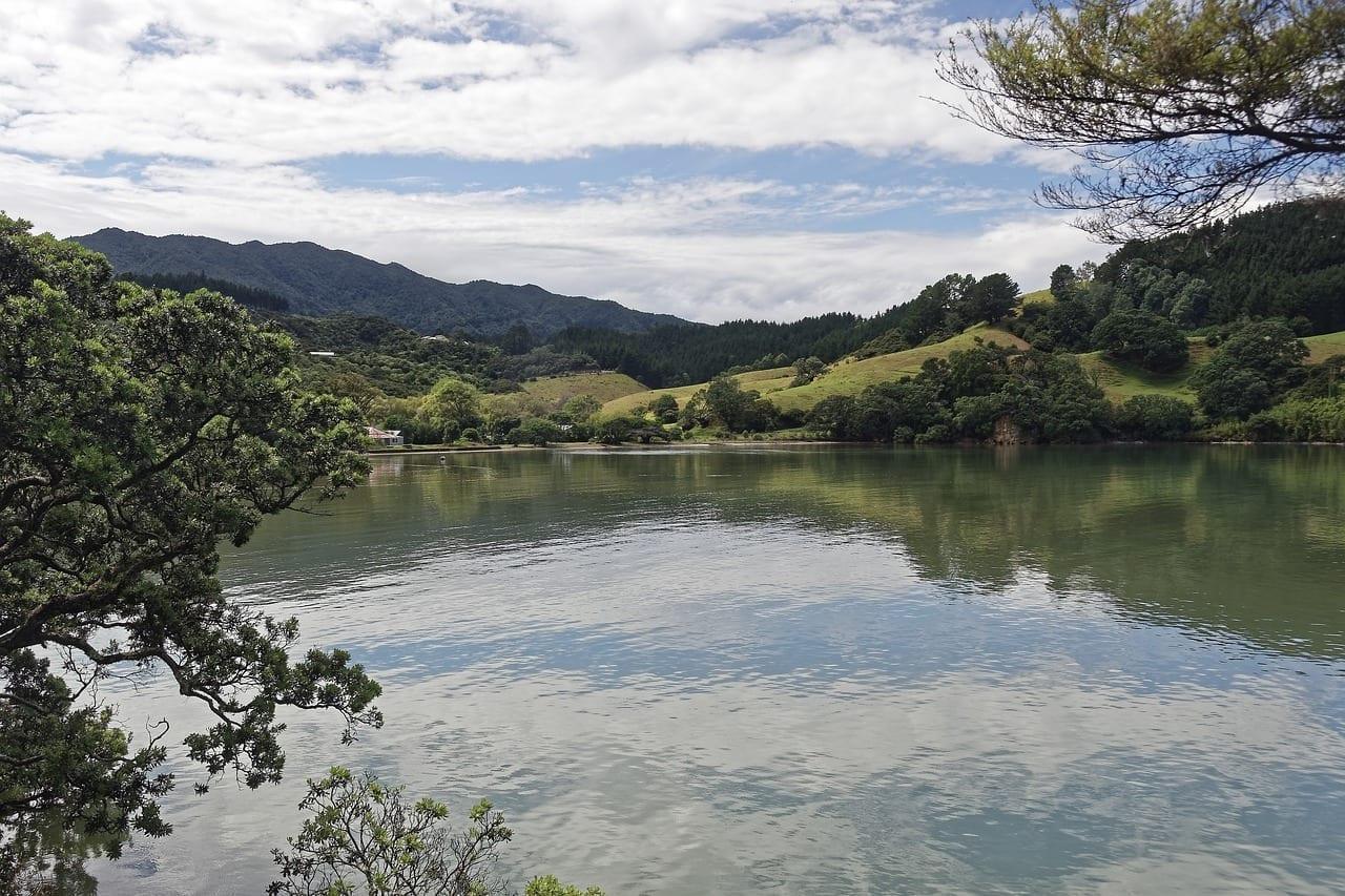 Nueva Zelanda Coromandel Mar Nueva Zelanda