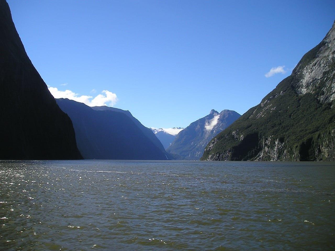 Nueva Zelanda Fiordland Isla Del Sur Nueva Zelanda