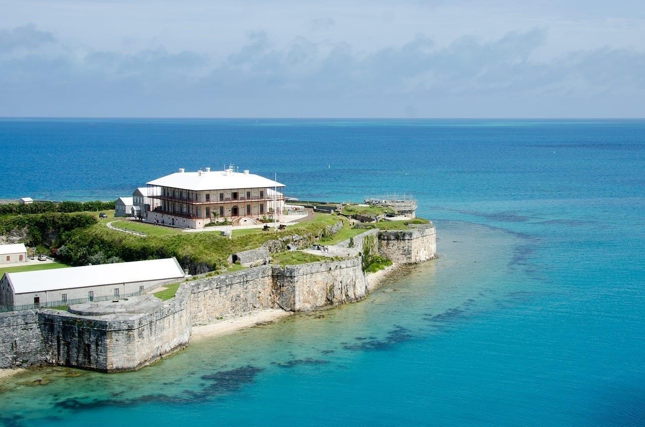Océano Bermudas Azul Bermudas