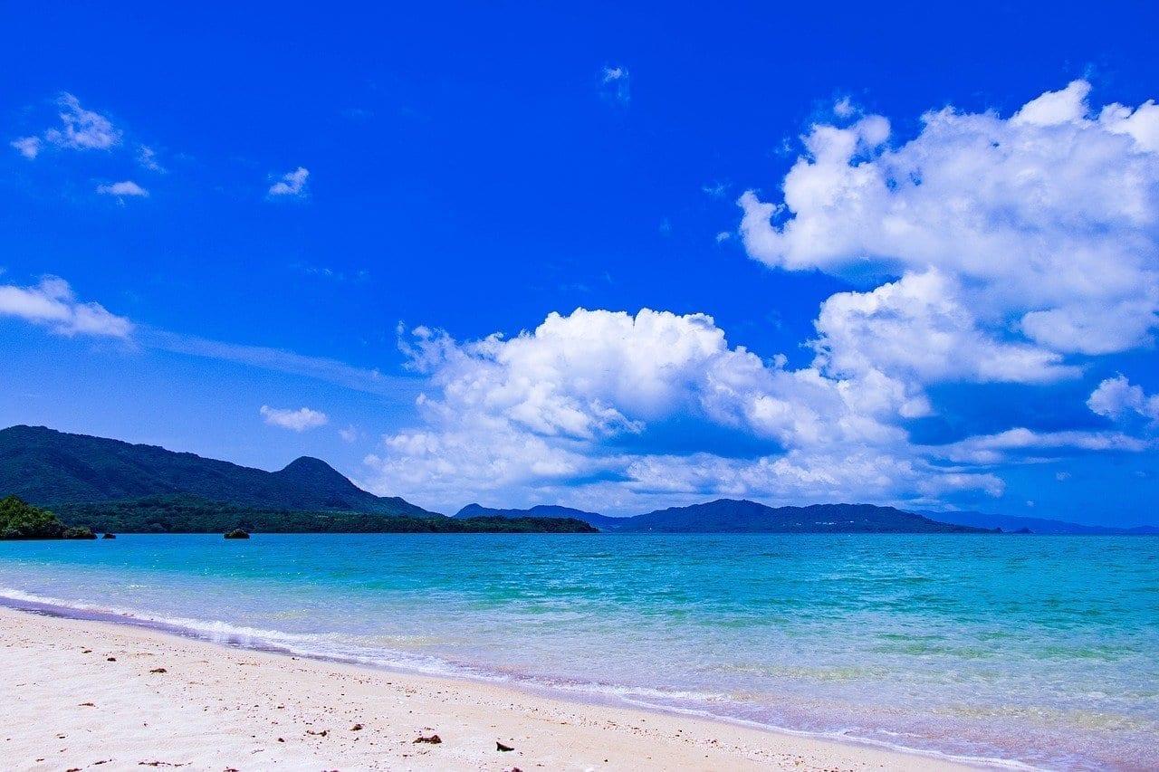 Okinawa Mar Japón Japón