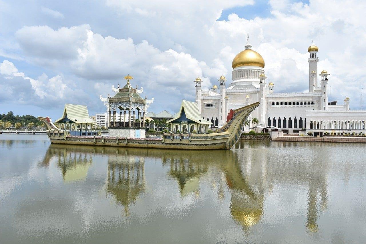 Omar Ali Saifuddien Mezquita Bandar Seri Begawan Brunei Brunei
