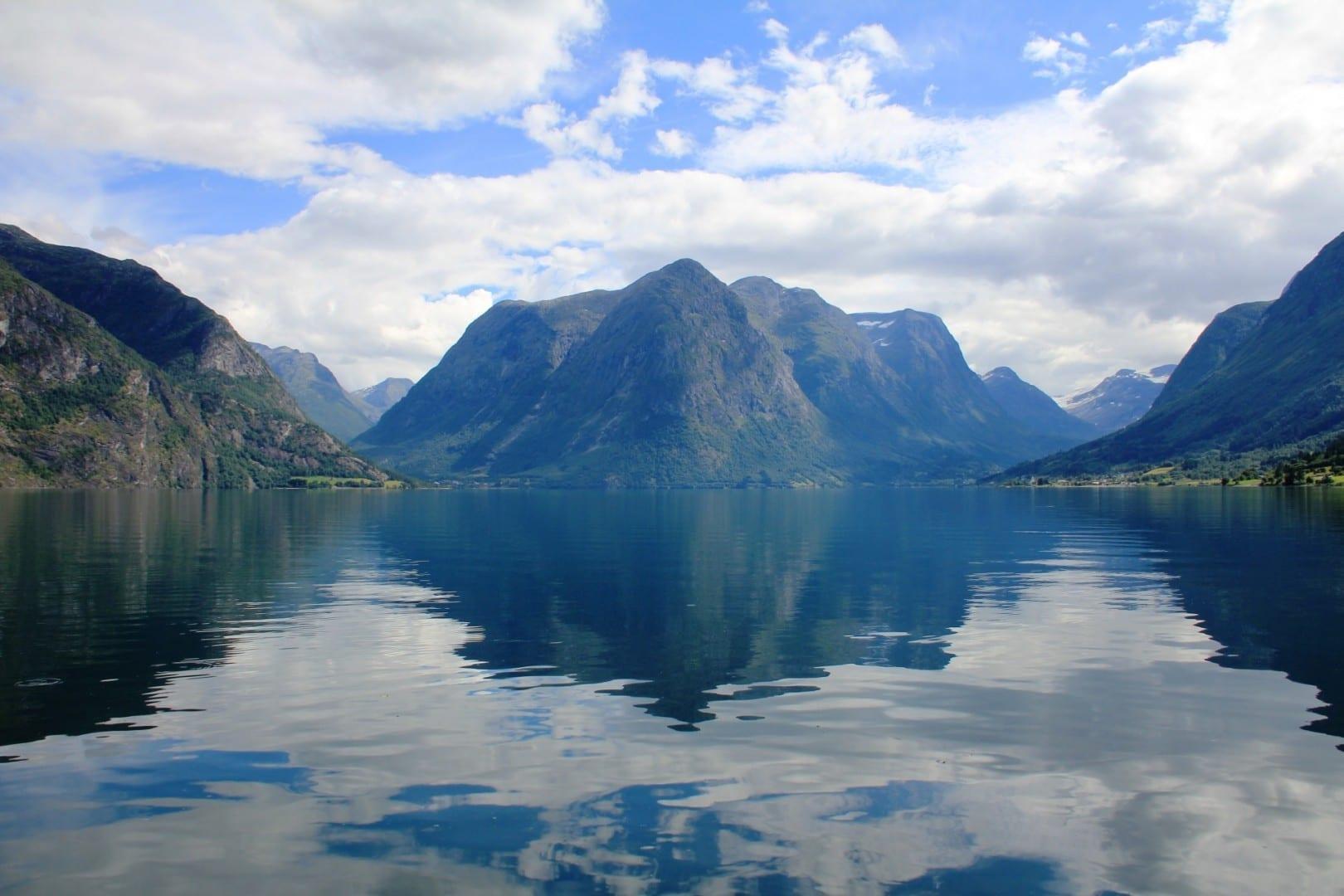 Oppstrynsvatn Stryn Noruega