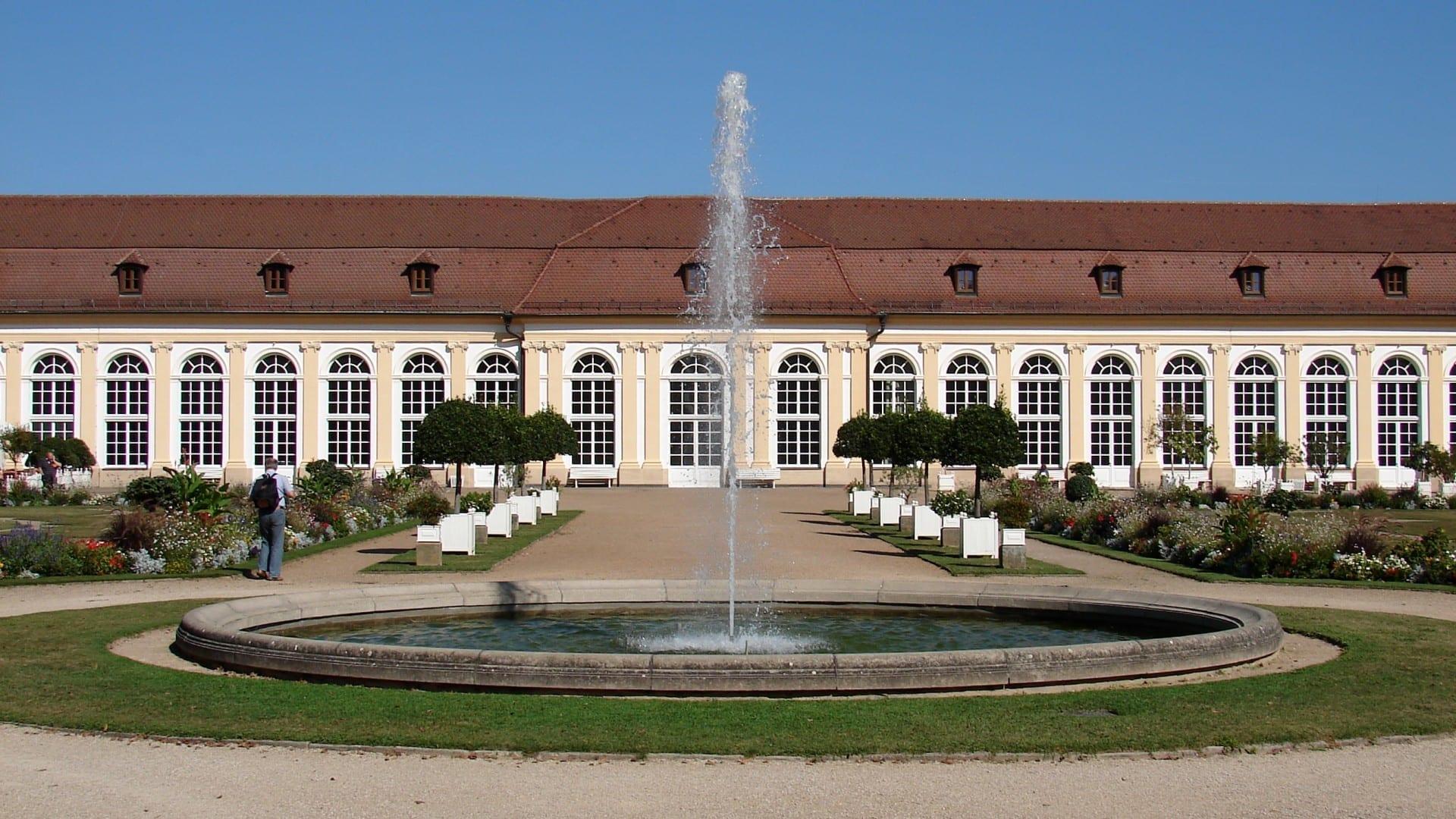 Orangerio Ansbach Alemania