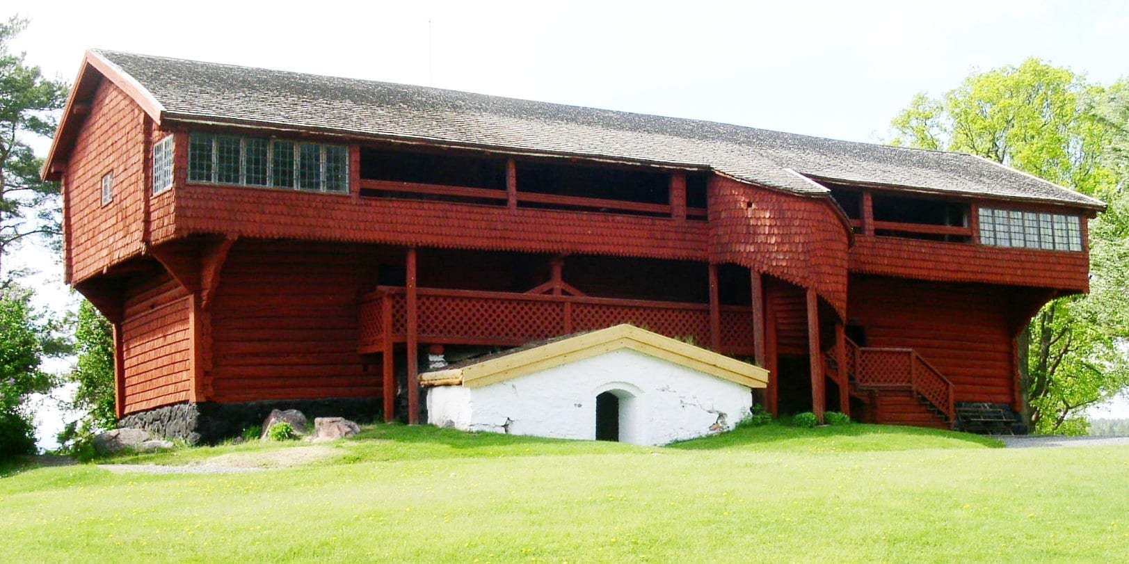 Ornässtugan, a las afueras de Borlänge, es uno de los museos más antiguos de Suecia. Borlange Suecia