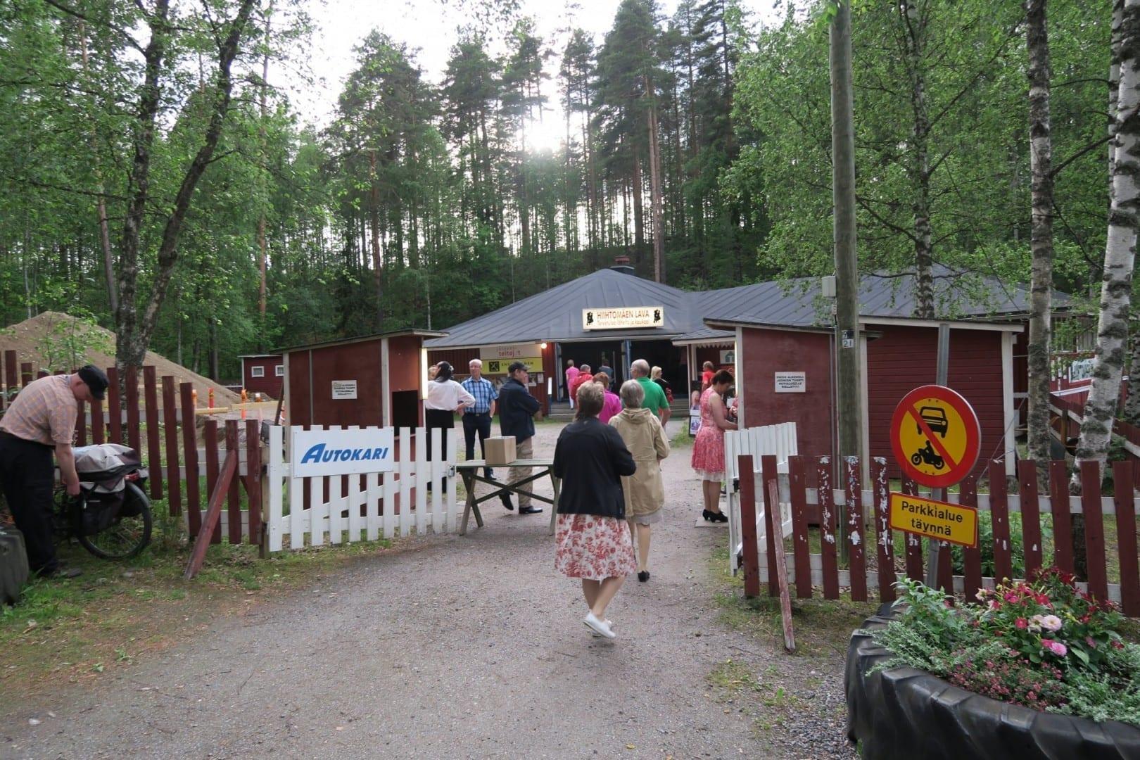 Pabellón de baile Hiihtomäki. Mikkeli Finlandia