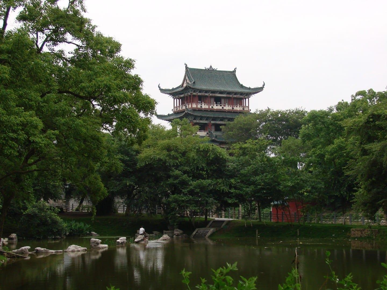 Pabellón de Bajing en Ganzhou Ganzhou China