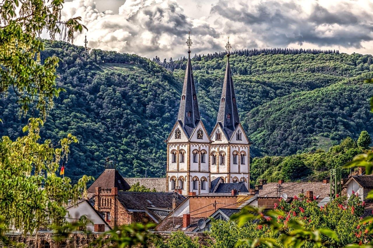 Paisaje Lugar Boppard Alemania