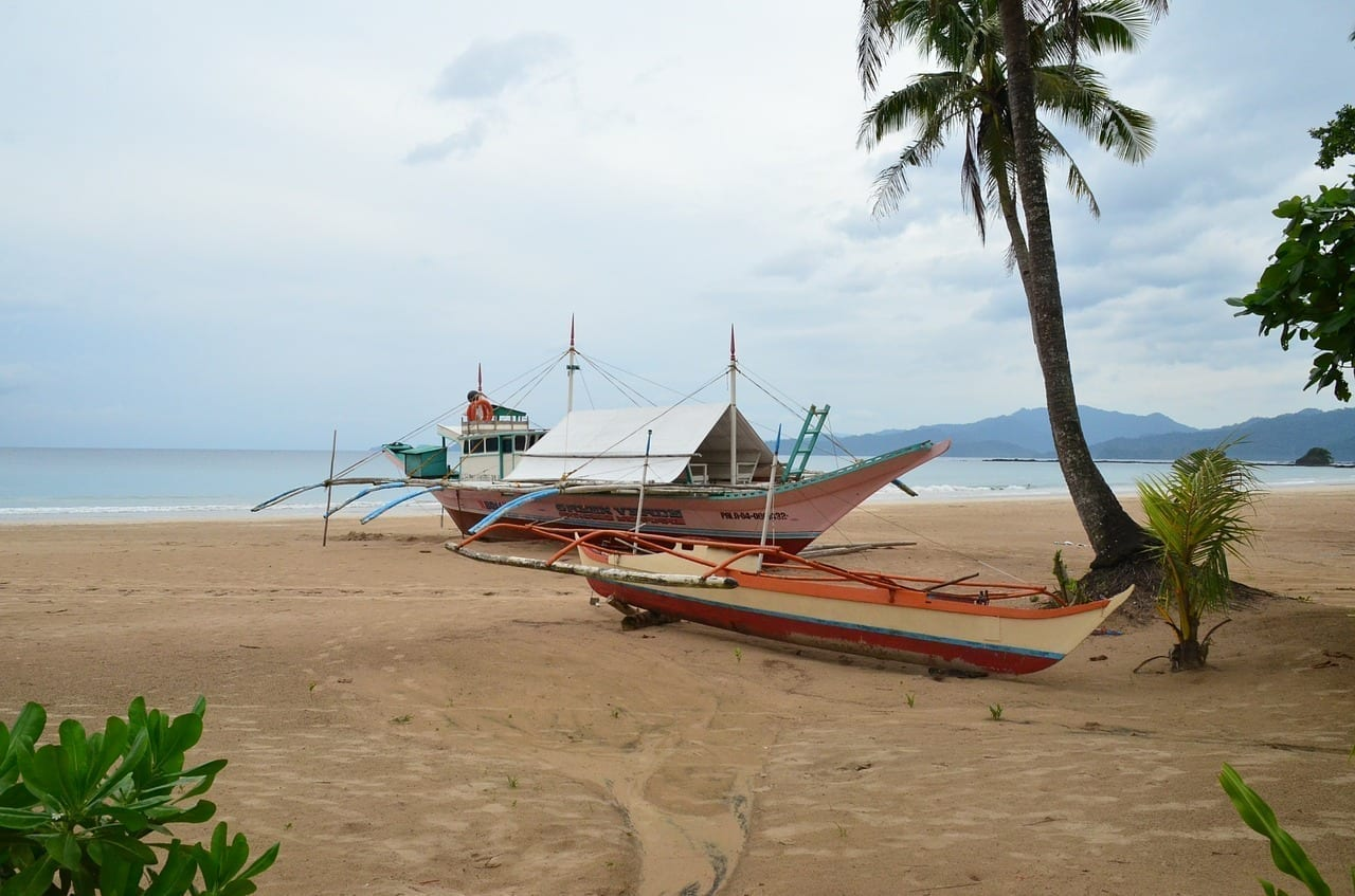 Palawan Selva De Manglares Barco Filipinas