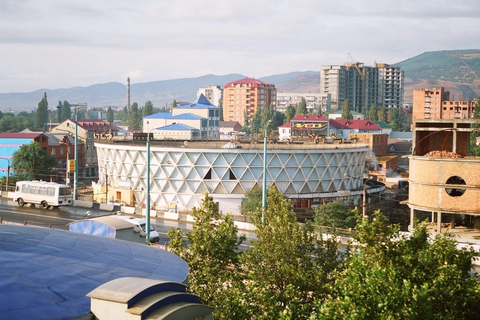 Panorama general de Makhachkala Makhachkala Rusia