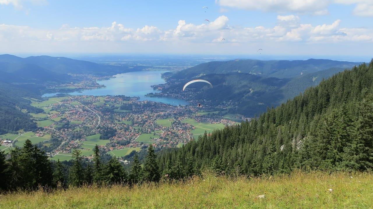 Parapente Tegernsee La Visión Alemania