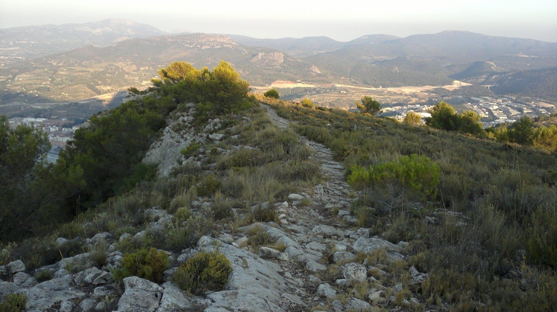 Parc Natural de la Serra Mariola Alcoy España