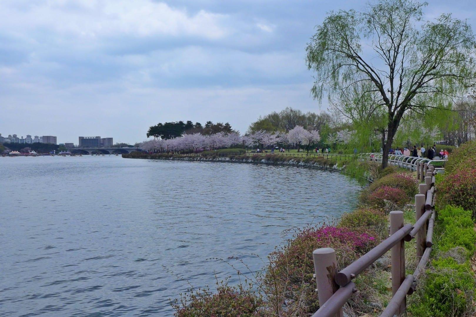 Parque del Lago Ilsan Goyang Corea del Sur