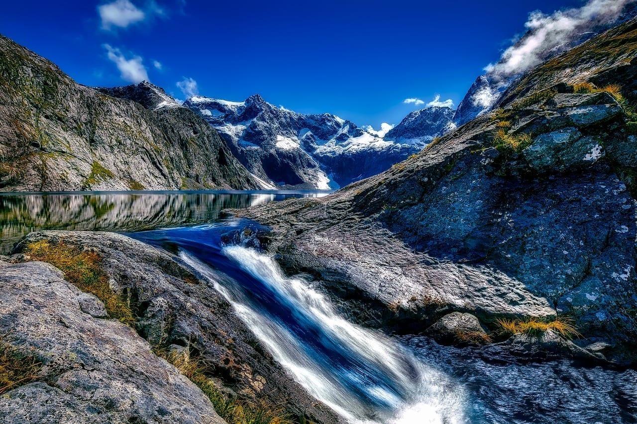 Parque Nacional De Fiordland Nueva Zelanda Paisaje Nueva Zelanda