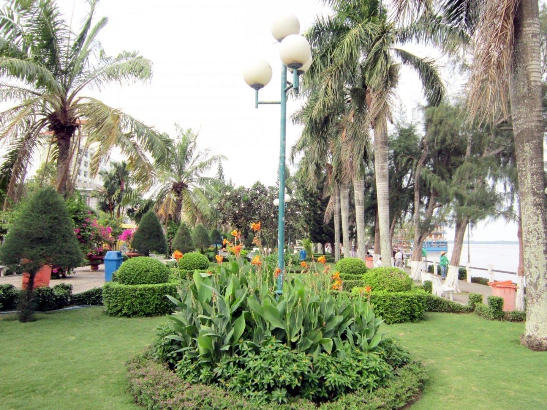 Parque Ninh Kieu Can Tho Vietnam