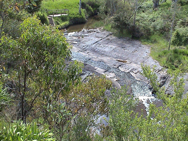 Pavimento glacial en Selwyn Rock Victor Harbor Australia