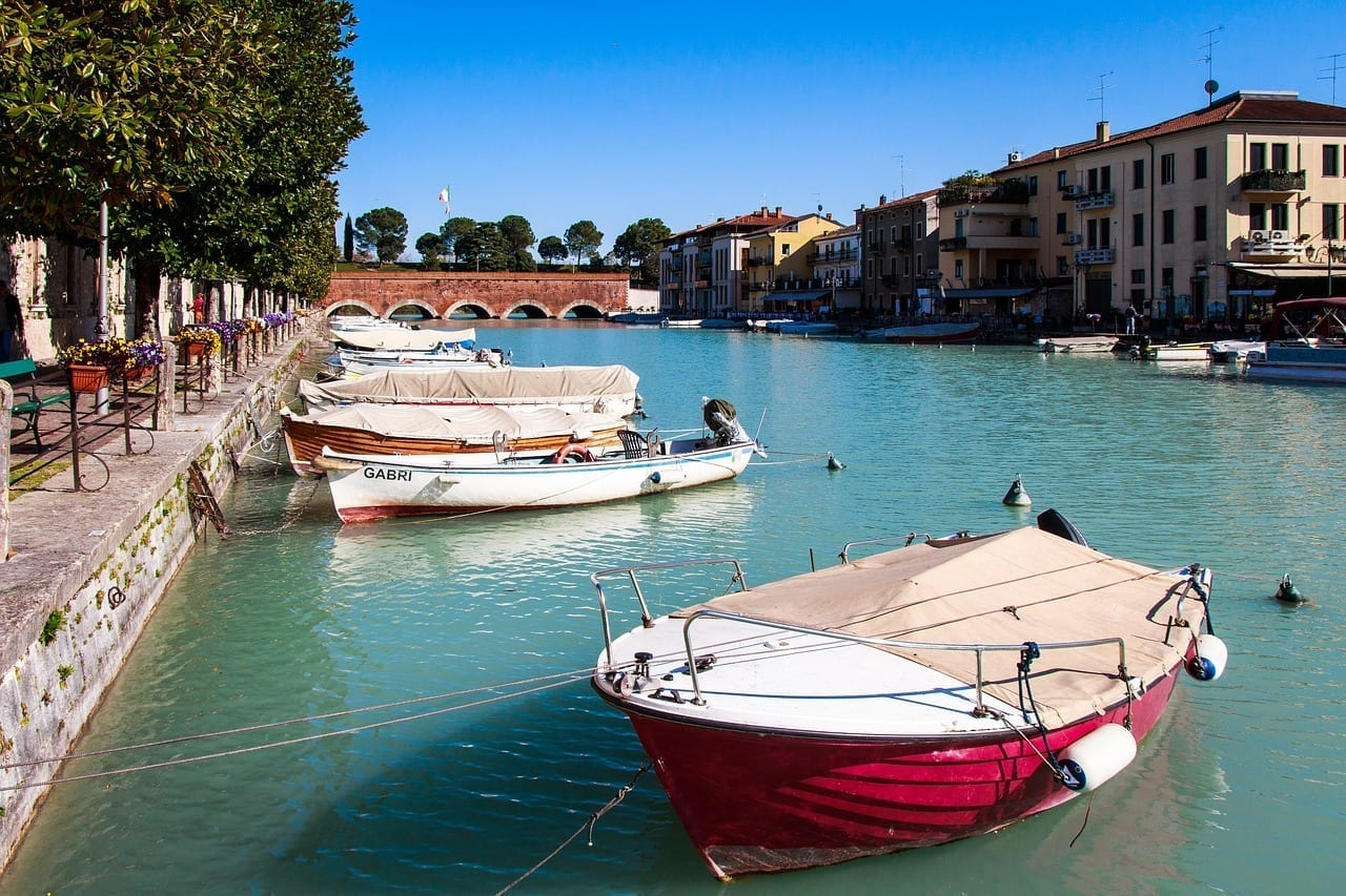 Peschiera Del Garda Garda Barco Italia
