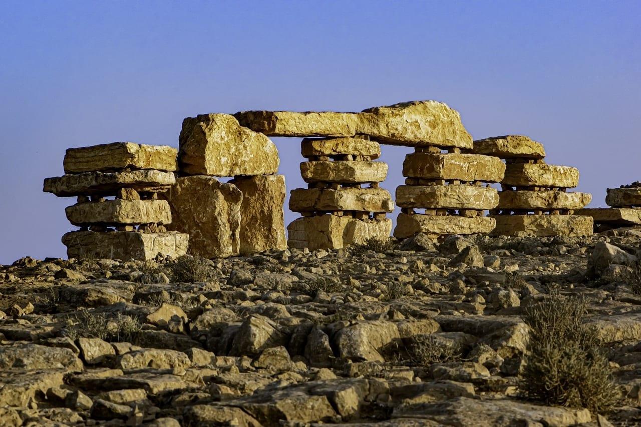 Piedras Mitzpe Ramon Piedra-parque Israel
