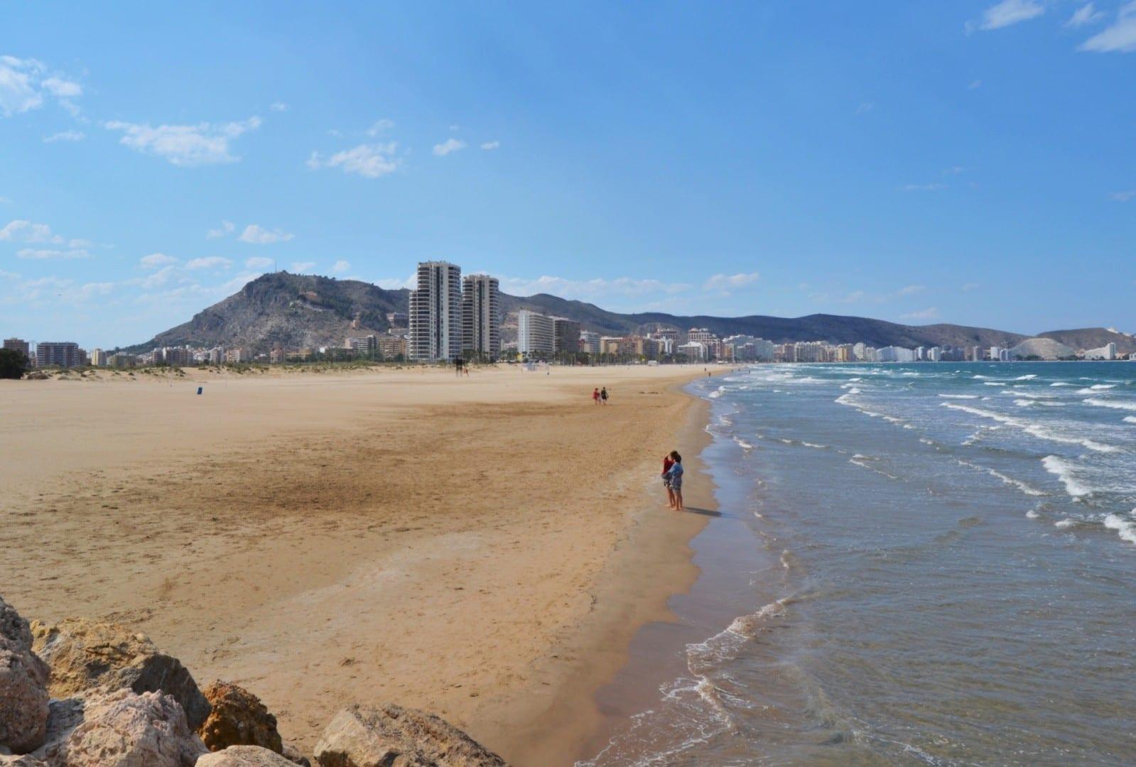 Platja de l'Escullera Cullera España