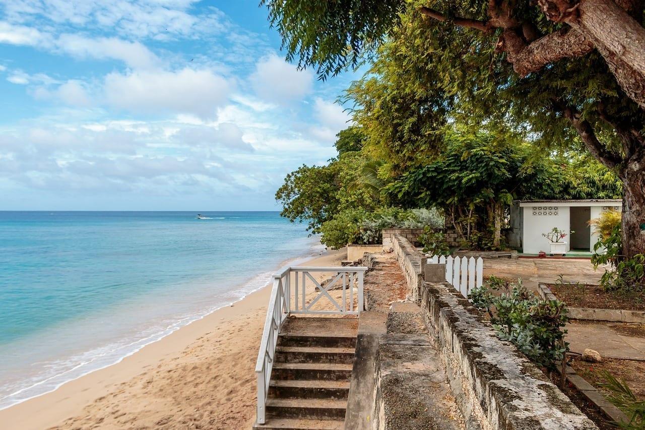Playa Chalet Clearwater Barbados Océano Atlántico Barbados